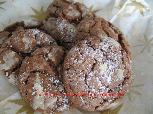 weiche schoko cookies soft chocolate cookies amerikanisch. Black Bedroom Furniture Sets. Home Design Ideas