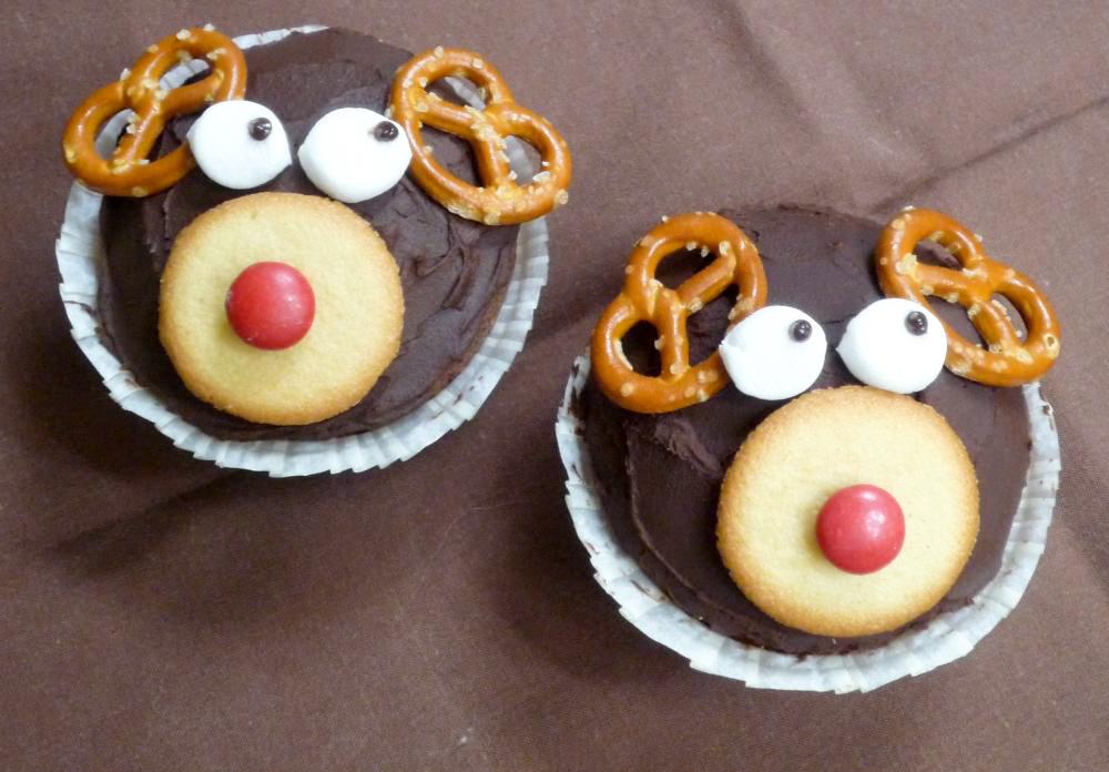 Bild von Cupcakes im Rudolf look