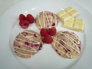 Himbeercookies