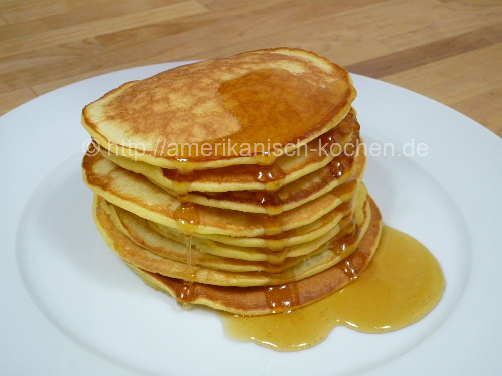 Amerikanische Pancakes Amerikanisch Kochen De
