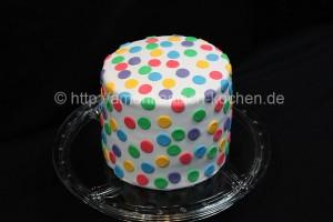 polka dot cake ganz