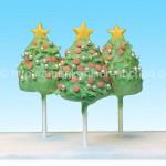 weihnachtsbaum cakepops