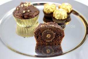 nussnougat cupcakes