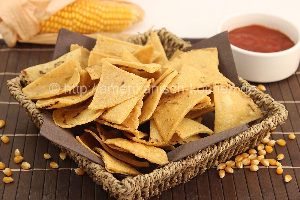 tortilla chips selber machen aus maistortillas amerikanisch. Black Bedroom Furniture Sets. Home Design Ideas