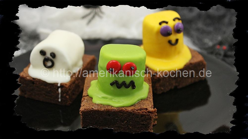 Halloween Week 4 Monster Brownies Amerikanisch Kochen De