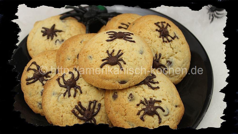 Amerikanische halloween deko ~ Halloween Week 2014 #3 Spinnen Cookies ...