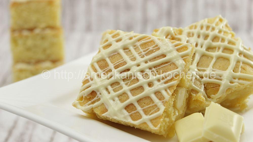 Schoko Woche 4 Blondies Brownies Aus Weisser Schokolade