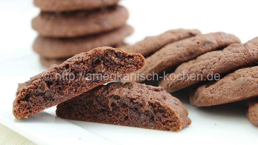 chewy chocolate chip cookies extra weich schokoladig amerikanisch. Black Bedroom Furniture Sets. Home Design Ideas