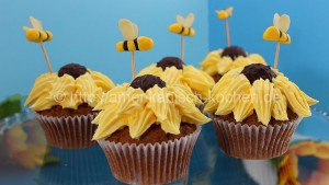 bienen cupcakes