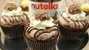 Nutella Cupcakes amerikanischkochen
