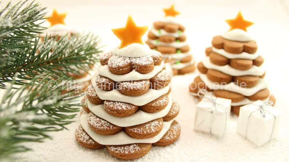 Recipe Gingerbread Tannenbaumchen 3d Christmas Tree Cookies Christmas Cookies Advent Calendar