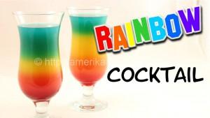 rainbow cockail