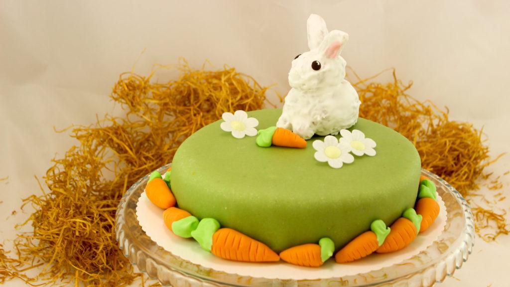Bild von einem Carrot Cake zu Ostern
