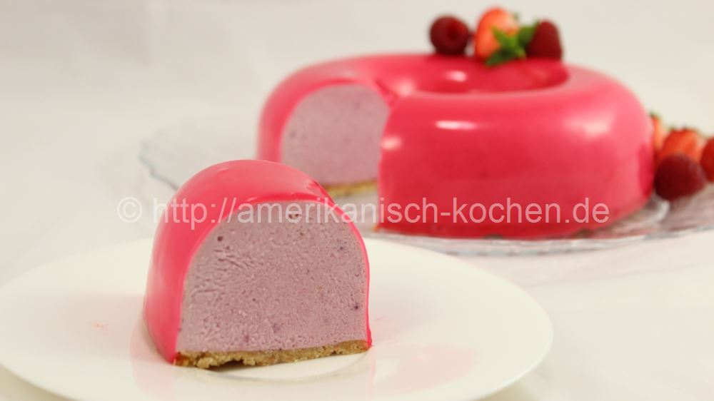 Cream Cheese Mousse Cake