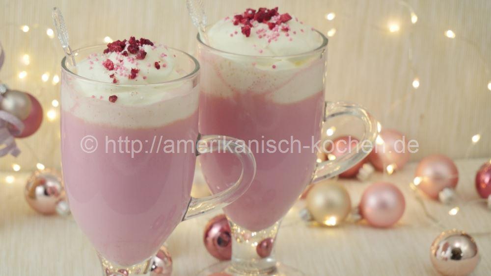 pink hot chocolate hei e schokolade mal anders amerikanisch. Black Bedroom Furniture Sets. Home Design Ideas