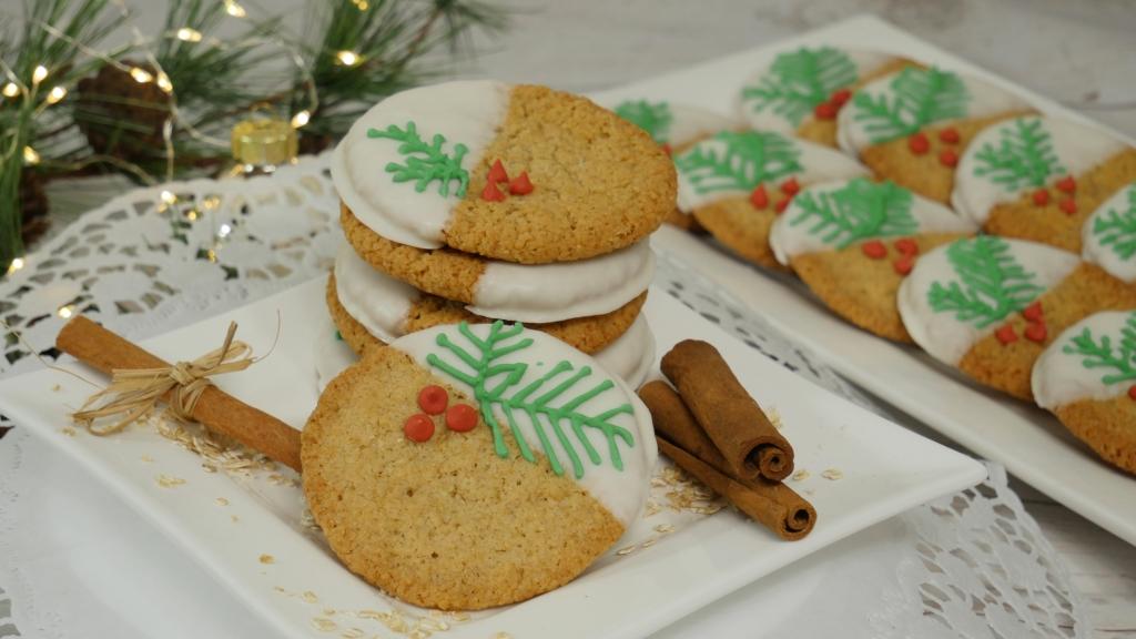 weihnachtliche oatmeal cookies mit der kenwood chef. Black Bedroom Furniture Sets. Home Design Ideas