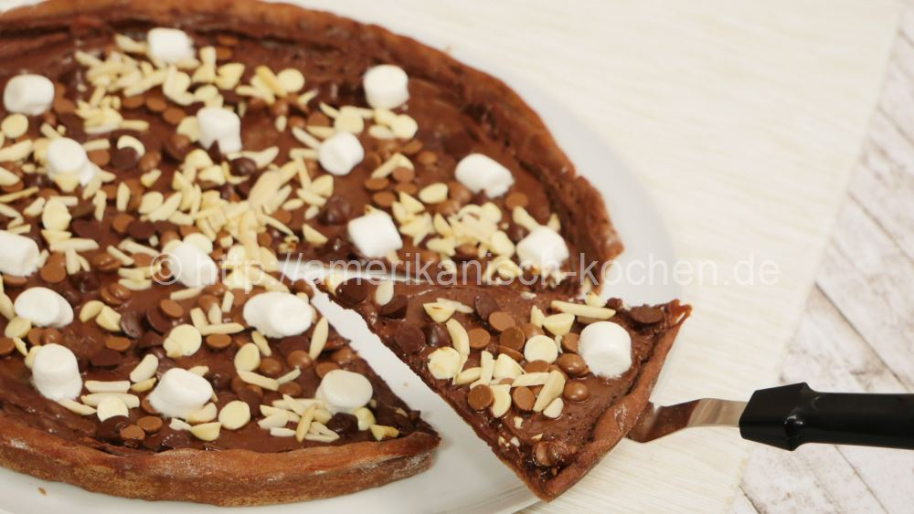Chocolate Pizza I Rocky Road Pizza I Schoko Pizza Selber Machen