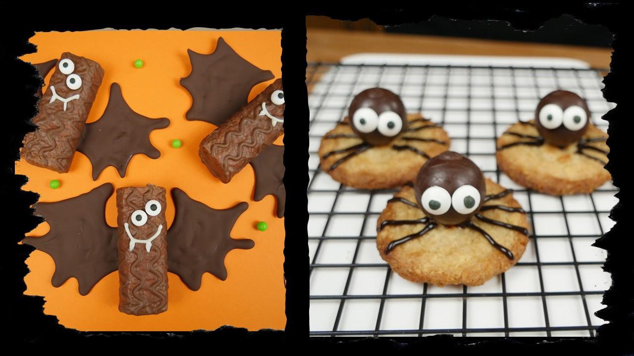 Süße Fledermäuse & Knusprige Spinnen zu Halloween - amerikanisch ...