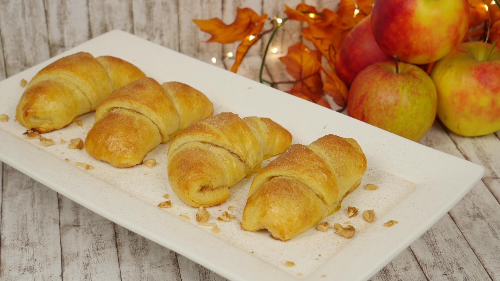 Mini apple pie i schnelle apfelk chlein i apfeltaschen for Schnelle sommergerichte