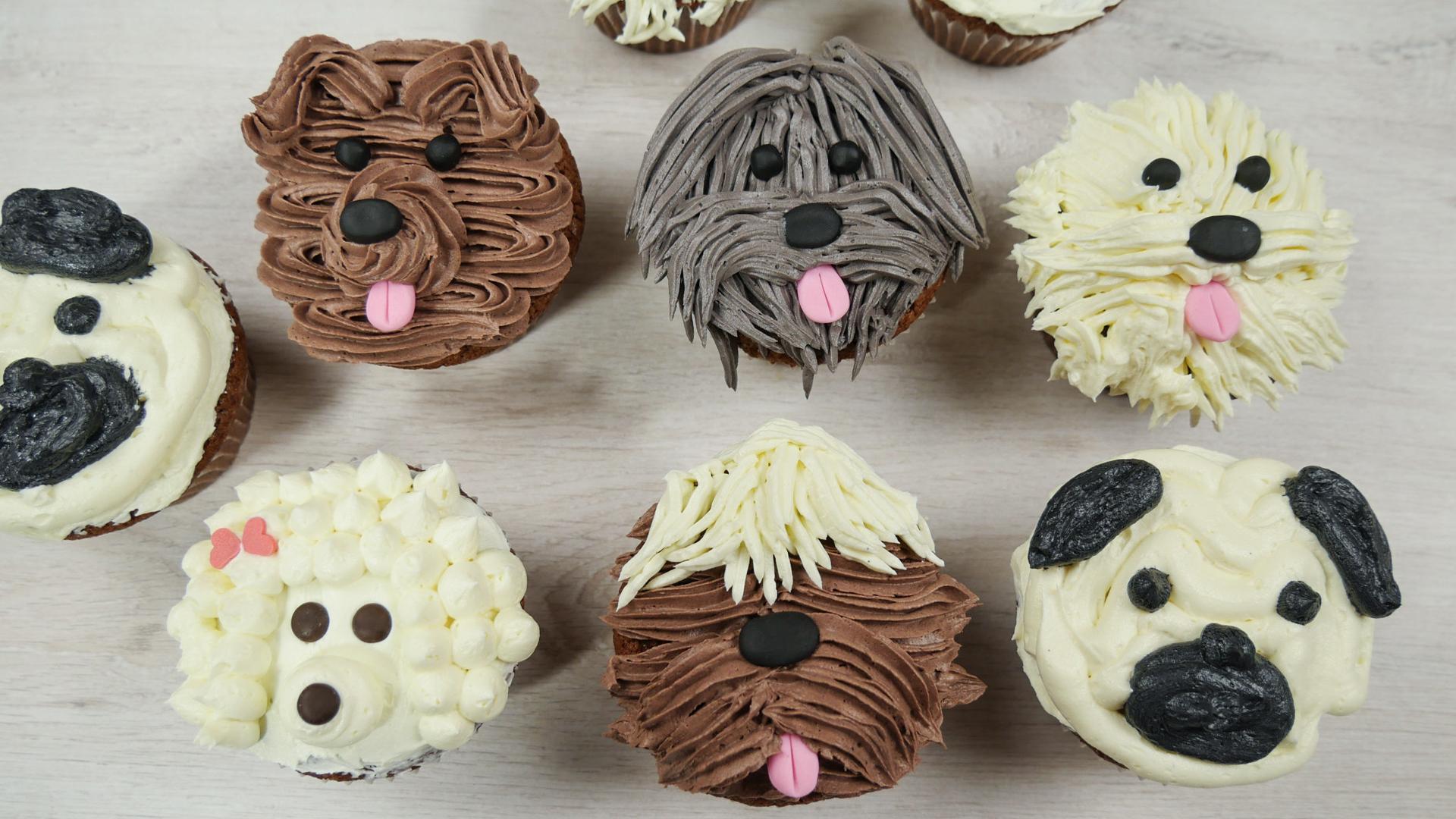 Puppy Cupcakes | Süße Hunde Cupcakes zum Filmstart von ISLE OF DOGS ...