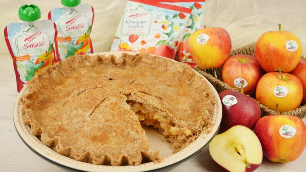 apple pie rezept ohne raffinierten zucker gedeckter apfelkuchen amerikanisch. Black Bedroom Furniture Sets. Home Design Ideas