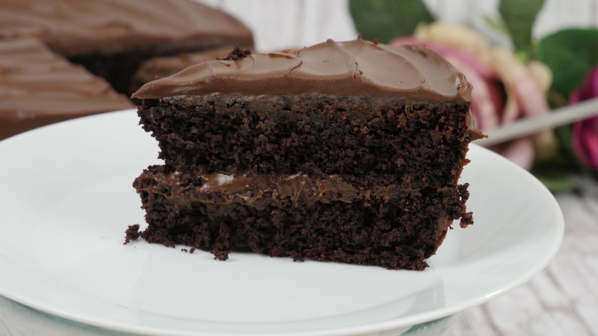 Chocolate Mud Cake Ein Geburtstagskuchen Für Kitchenaid